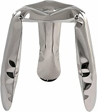 Zieta Stuhl, Metall, Silber