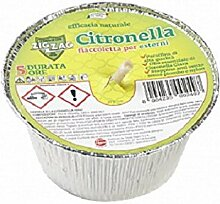 Zig Zag Citronella-Kerze, Fackel aus Aluminium,