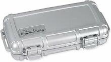 Zigarre Caddy 3400-r Silber 5Zigarre