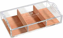 Zigarren Humidor Acryl Transparent Cedar Cigar Box