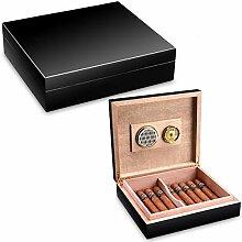 Zigarren-Humidor aus Zedernholz, klein, mit