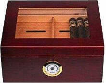 Zigarren-Humidor Transparent Fenster Kleine