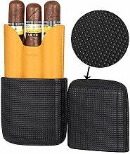 Zigarrenetui Für Männer, Tragbare Reise Leder