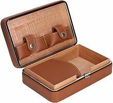 Zigarrenetui Portable Travel Outdoor Humidor Etui