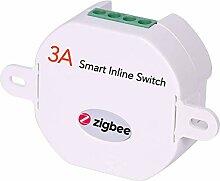 ZigBee Smart Inline-Lichtschalter, der hinter dem