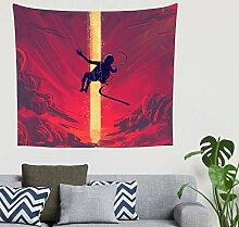 Zigeuner Fantasie Der Fallende Astronaut Rot