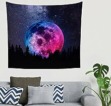 Zigeuner Raum Mond Himmel Wandbehang Tapisserie