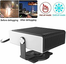 ZIHAOD Auto Heizung, 12v/24v150w Auto Defroster
