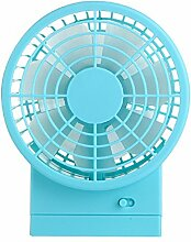 "ZIJIFAN Usb Mini Ventilator Mute Desktop Desktop kleiner Ventilator Office Student hostels Tabelle 5 elektrische Ventilatoren"""", blau"