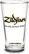 Zildjian Bierglas schwarzes Logo