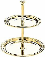 Zilverstad Etagere Elegance, goldfarben, klein,