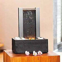 Zimmerbrunnen Edelstahl Schiefer - Liu