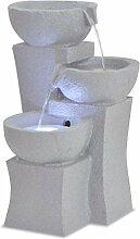 Zimmerbrunnen mit LED-Beleuchtung Brunnen aus