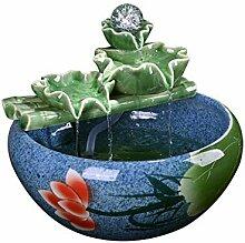 Zimmerbrunnen Wohnaccessoires Keramik Wasser