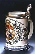 Zimmermann Bierseidel Bier-Krug Damenkrug mit