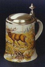 Zimmermann Bierseidel Bier-Krug Hirsch