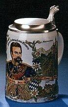 Zimmermann Bierseidel Bier-Krug König Ludwig