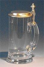 Zimmermann Bierseidel Bier-Krug Kristallglaskrug