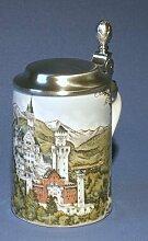 Zimmermann Bierseidel Bier-Krug Schloß