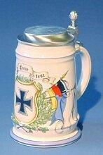 Zimmermann Bierseidel Bier-Krug Soldaten- und