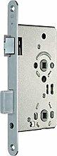 Zimmertür-Einsteckschloss BAD 20/ 65/78/8 mm, DIN