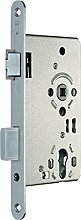 Zimmertür-Einsteckschloss PZW 20/ 55/72/8 mm, DIN