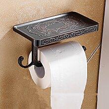 Zink-legierung Toilettenpapierhalter,Europäisch