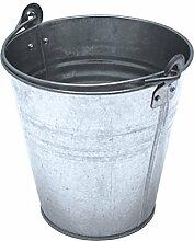 Zinkeimer 6L Metalleimer verzinkt Blecheimer Ascheeimer Eimer Wassereimer