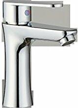 Zinklegierung Toilette Wasserhähne kleine Taillen-Beschichtung der einzelnen Bohrung Waschbecken Wasserhahn