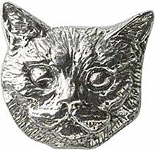 Zinn ~ Kurzhaar Katze ~ Kühlschrank Magnet ~