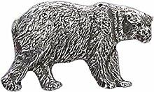 Zinn ~ Polar Bär ~ Kühlschrank Magnet ~ m040m