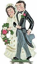 Zinnfigur Brautpaar (zum Stellen)