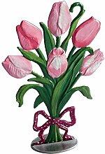 Zinngeschenke Blumenstrauss mit Tulpen als