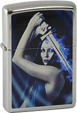 Zippo 1.100.079 Feuerzeug Woman with Sword Chrome