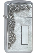 Zippo 1370007 Feuerzeug 1600 Roses With Panel Emblem