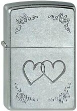 Zippo 207-003474 to Heart Feuerzeug, Messing,