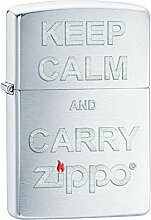 Zippo 60000186 Feuerzeug Keep Calm