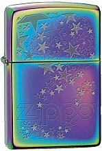 Zippo 60001072Star Burst Feuerzeug Messing Spectrum 3,5x 1x 5,5cm