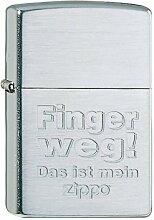 Zippo 60001327 Finger Weg Feuerzeug, Messing,