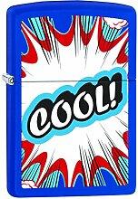 Zippo 60001877Cool Feuerzeug Messing Navy Matt 3,5x 1x 5,5cm
