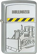 Zippo Benzinfeuerzeug Bulldozer Baufahrzeug Raupe