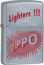 Zippo Burst Feuerzeug, Messing