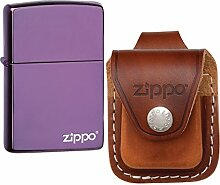 Zippo Classic Feuerzeug (violett)