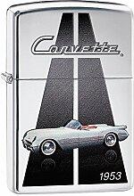 Zippo Corvette 1953 Benzinfeuerzeug, Messing,