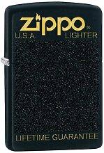 Zippo Feuerzeug 60002734 PL Black Plastic Box