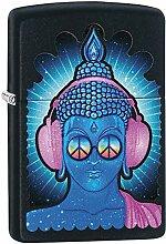 Zippo Feuerzeug Buddha Peace Headphone Design