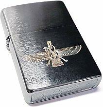 Zippo Feuerzeug Faravahar Symbol I echte