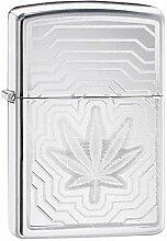Zippo Feuerzeug Leaf Layers Design