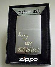 Zippo Feuerzeug mit Gravur I love my Zippo