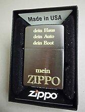 Zippo Feuerzeug mit Gravur Mein ZIPPO